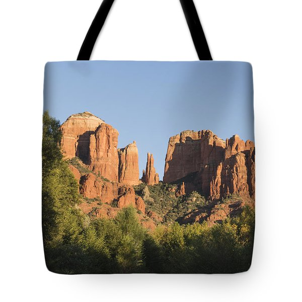 Cathedral In The Trees Tote Bag