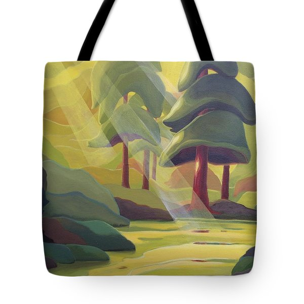 Cathedral Light Tote Bag