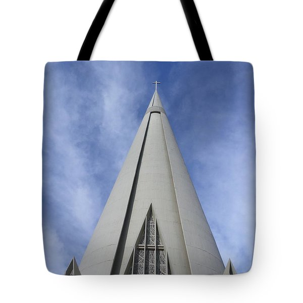 Cathedral Minor Basilica Our Lady Of Glory Tote Bag