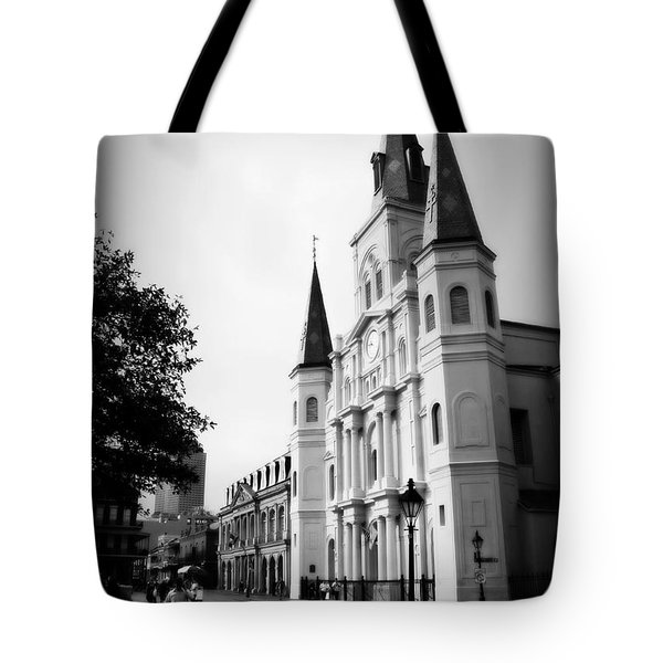 Cathedral Morning 2 Tote Bag by Perry Webster