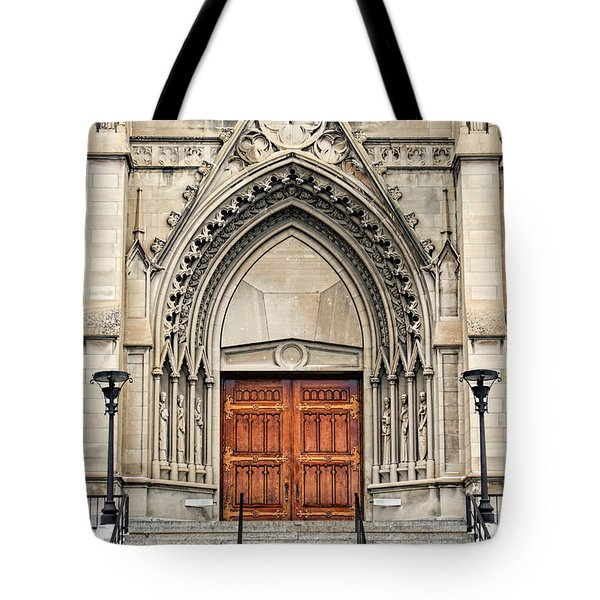 Cathedral Of St Helena Tote Bag