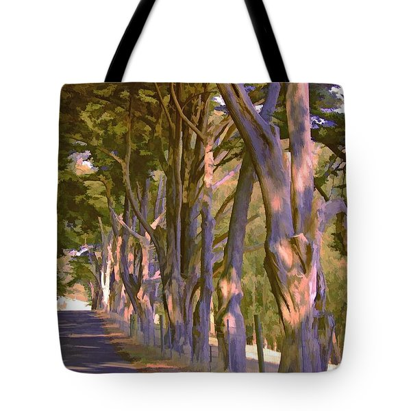 Cathedral Of Trees Tote Bag