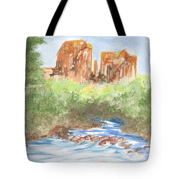 Cathedral Rock 2,  Sedona, Az. Tote Bag