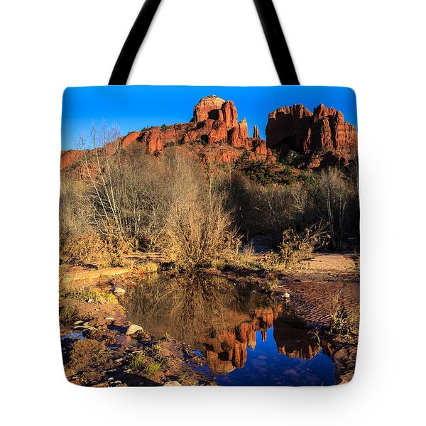 Cathedral Rock Arizona Tote Bag