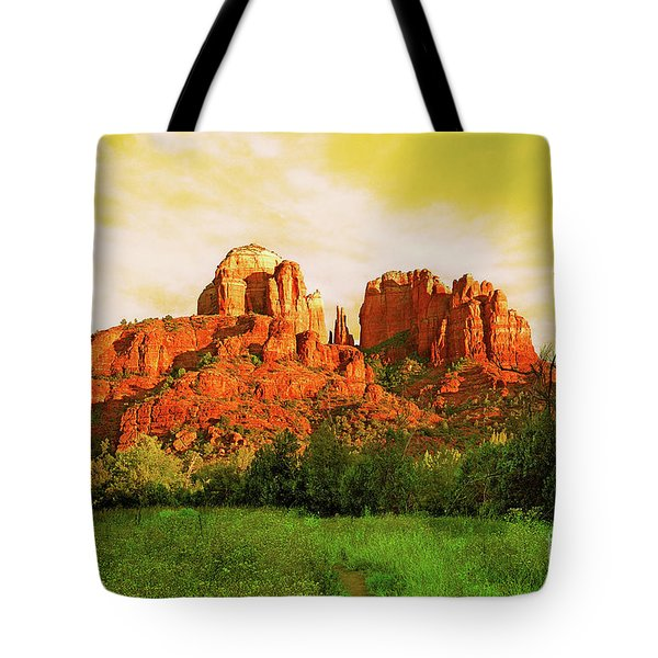 Cathedral Rock Az Tote Bag