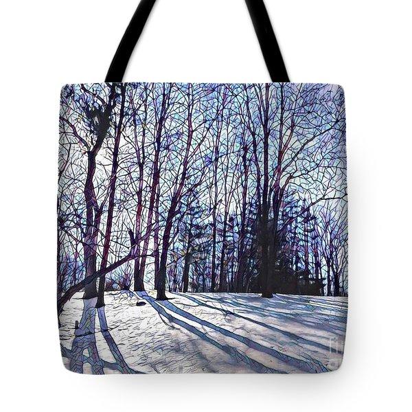 Cathedral Skies Tote Bag by Margaret Lindsay Holton