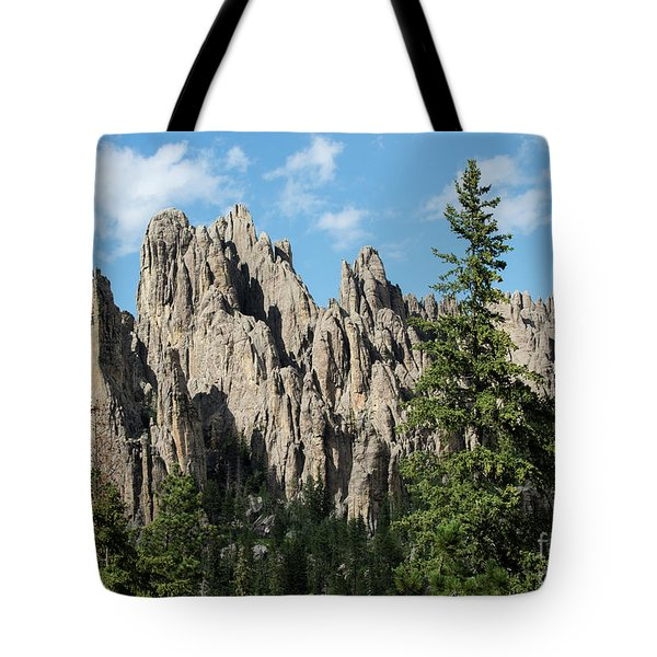 Cathedral Spires Tote Bag