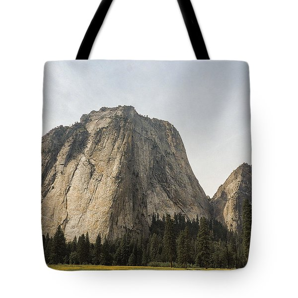 Cathedral Spires Yosemite Valley Yosemite National Park Tote Bag