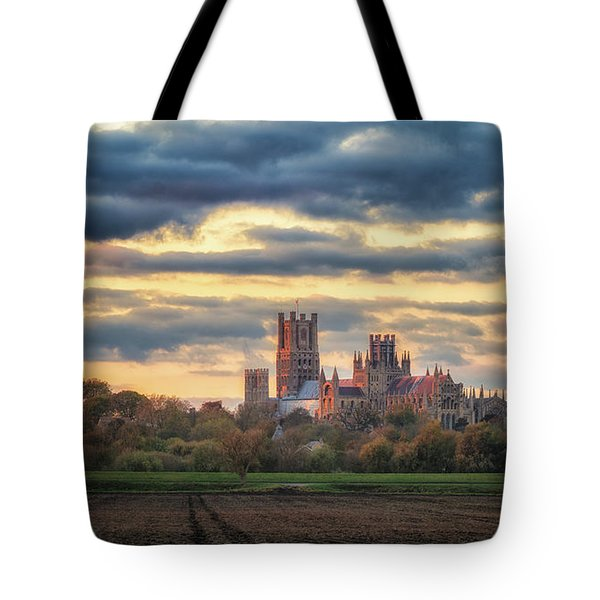 Cathedral Sunset Tote Bag