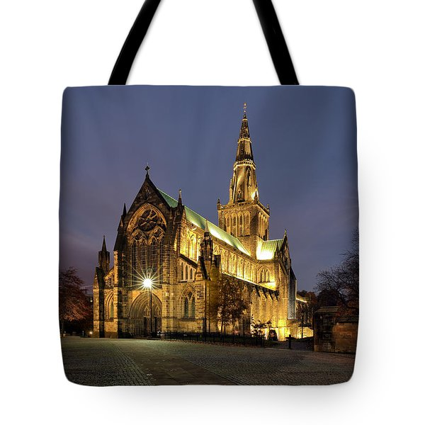 Cathedral Twilight Tote Bag