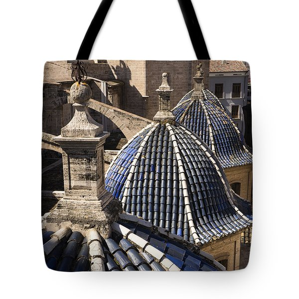Cathedral Valencia Side Domes Tote Bag