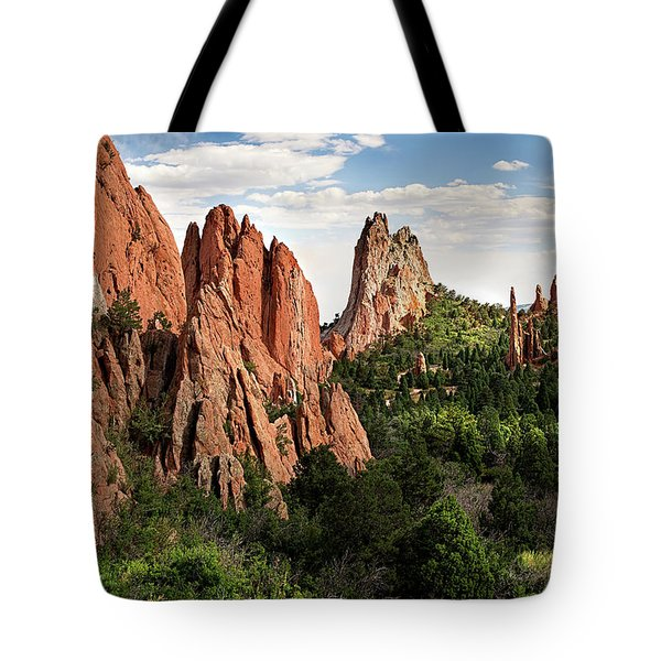 Cathedral Valley, Colorado Tote Bag