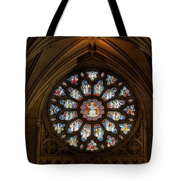 Tote Bag featuring the photograph Cathedral Window by Adrian Evans