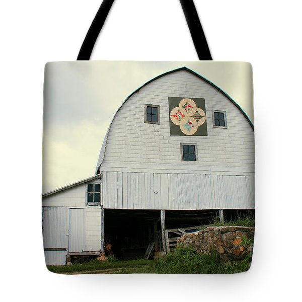 Cathedral Window Tote Bag