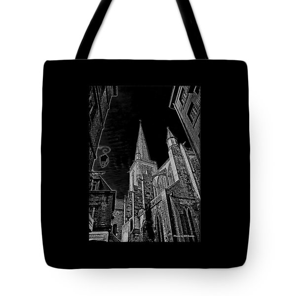 Tote Bag featuring the photograph Cathedrale St/. Vincent by Elf Evans