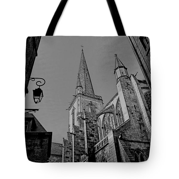 Tote Bag featuring the photograph Cathedrale St. Vincent  by Elf Evans