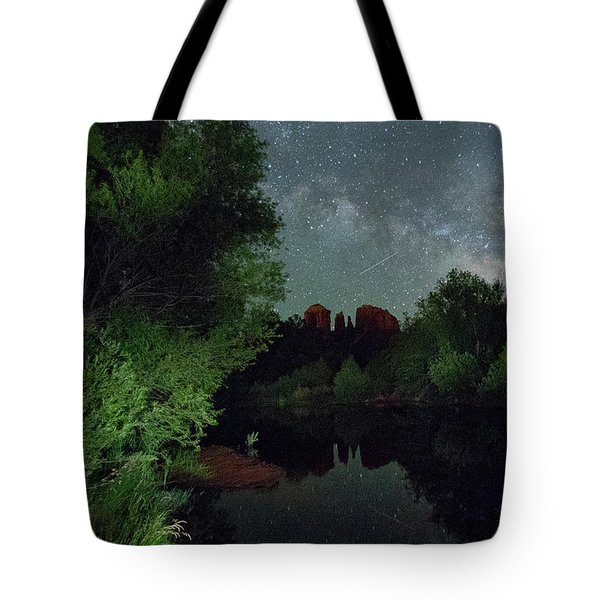 Cathedrals' Skies Tote Bag