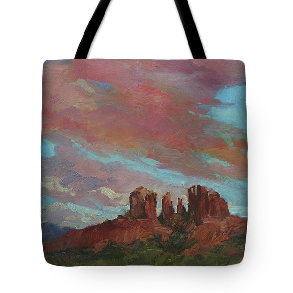 Catherdral Canopy Tote Bag