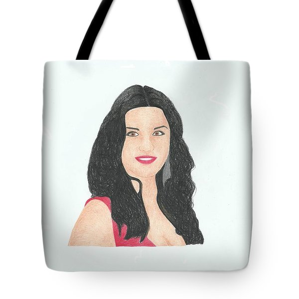 Catherine Zeta Jones Tote Bag