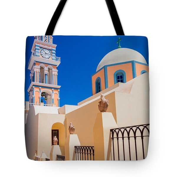 Catholic Cathedral Church Of Saint John The Baptist Tote Bag