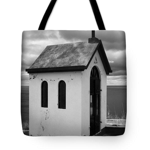 Catholic Chapel Tote Bag by Gaspar Avila