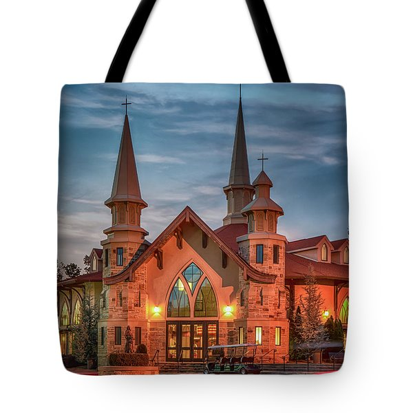 Catholic Church Of St. Ann Tote Bag
