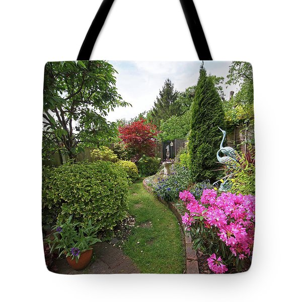 Cathy's Garden - A Little Slice Of England Tote Bag by Gill Billington