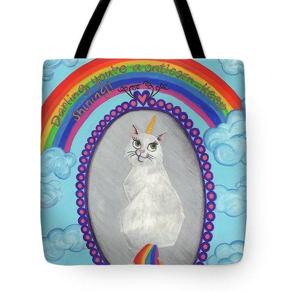 Caticorn Tote Bag