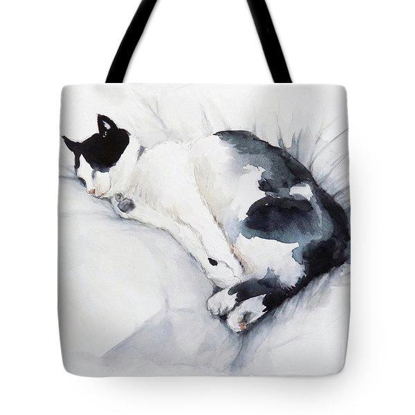Catnap 1-2 Tote Bag