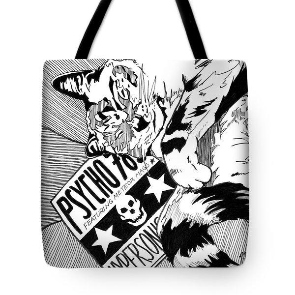 Catnap Tote Bag by Matthew Howard