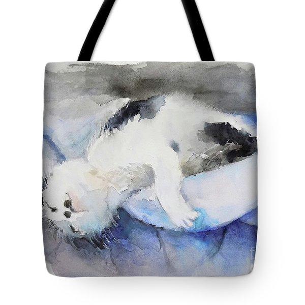 Catnap2-1 Tote Bag
