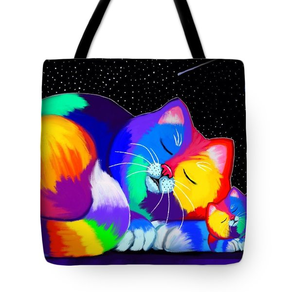 Catnaps For Two Tote Bag