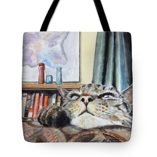 Catnip Tote Bag by Stan Tenney
