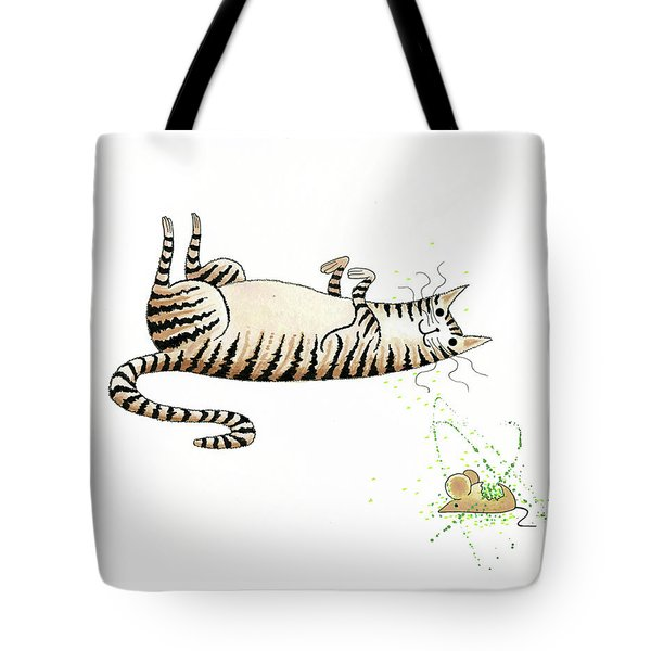 Catnipped  Tote Bag