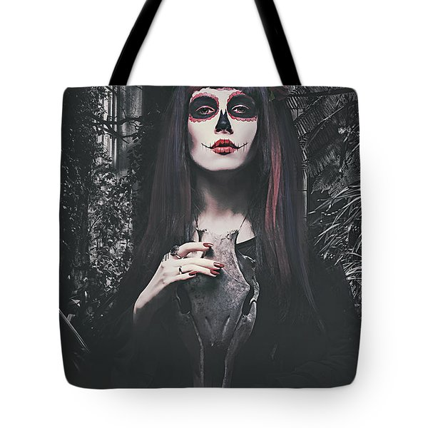 Catrina Day Of The Dead Tote Bag