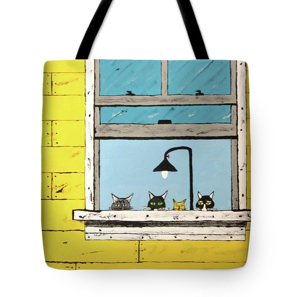 Cats Daydreaming Tote Bag