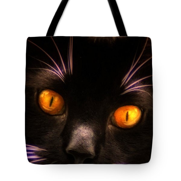 Cats Eyes Tote Bag by Bill Cannon