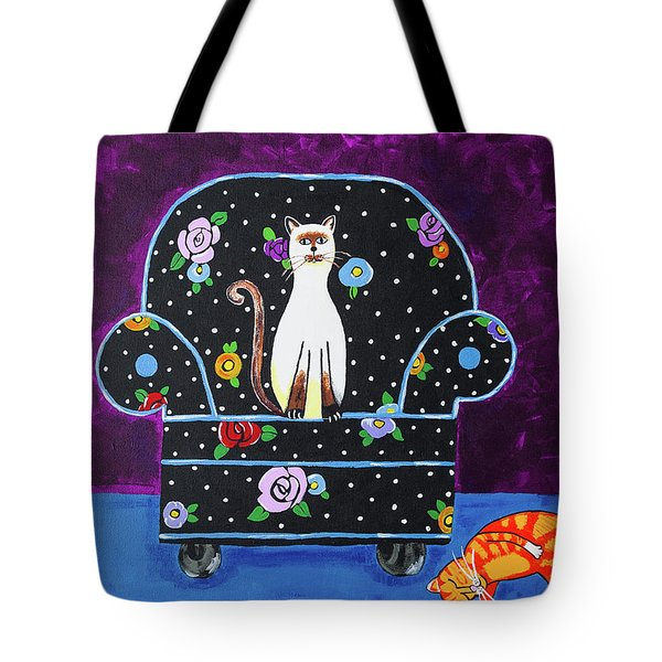 Cats Just Wanna Have Fun Tote Bag