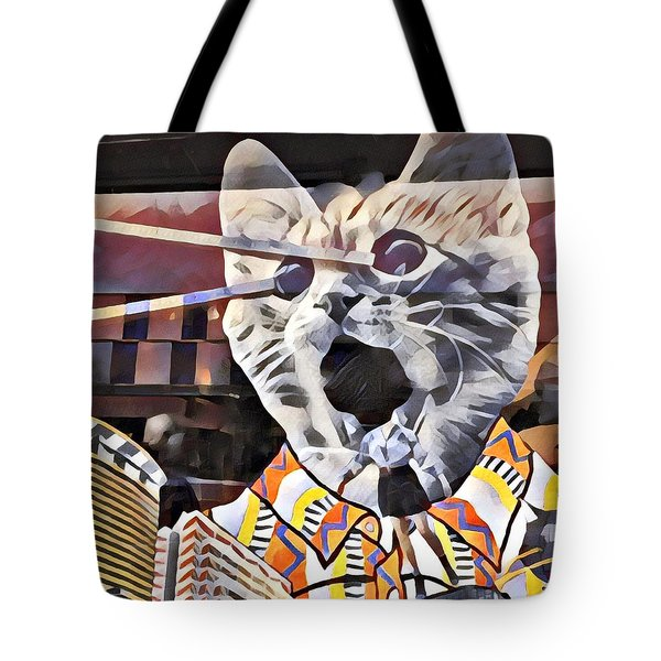Cats On Congress Tote Bag