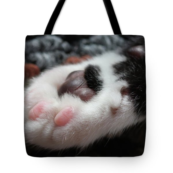 Tote Bag featuring the photograph Cats Paw by Kim Henderson