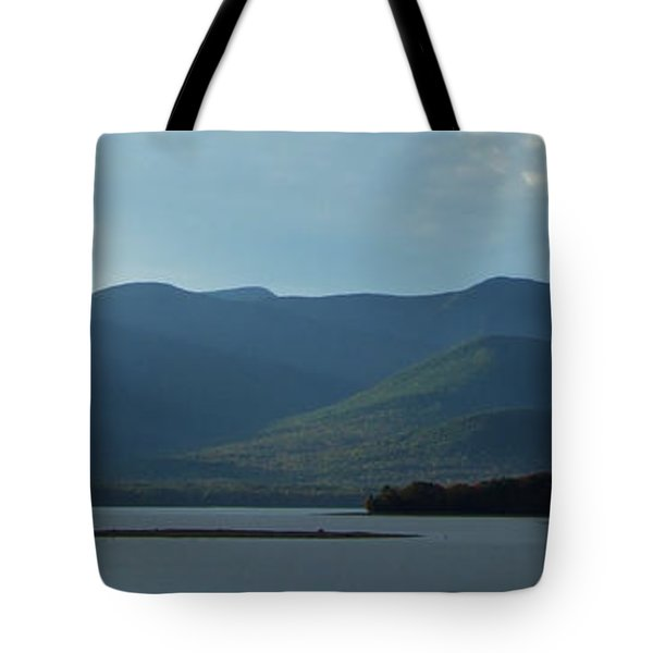Catskill Mountains Panorama Photograph Tote Bag