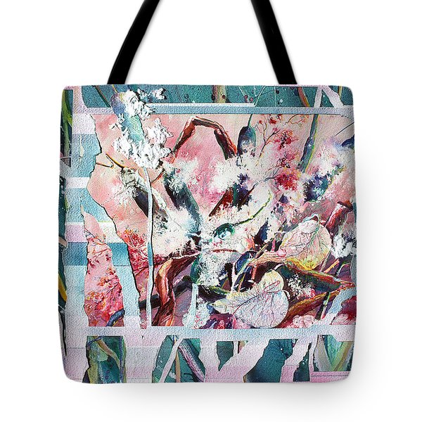 Cattails Six Tote Bag
