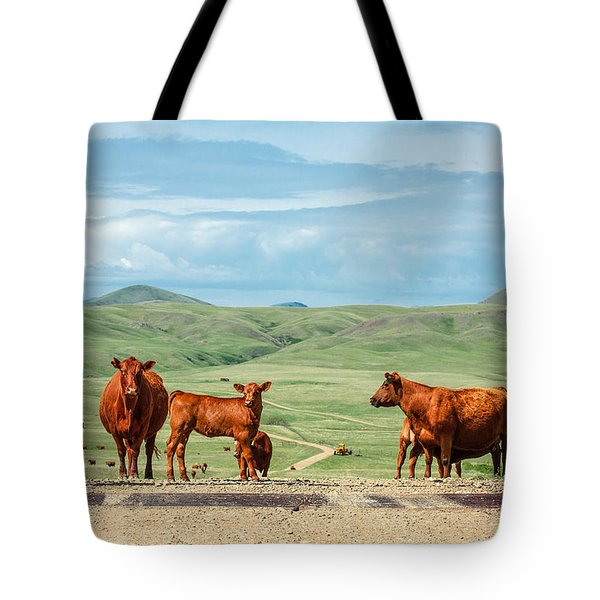Cattle Guards Tote Bag