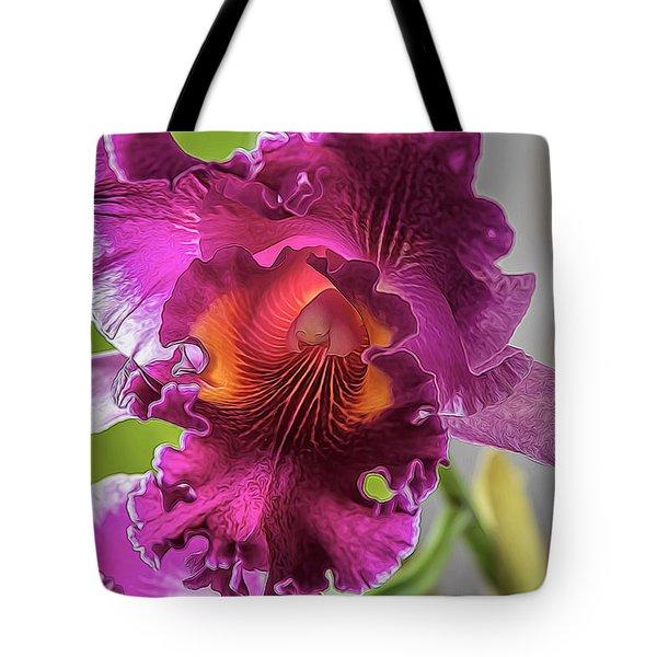 Cattleya Tote Bag by Alana Thrower