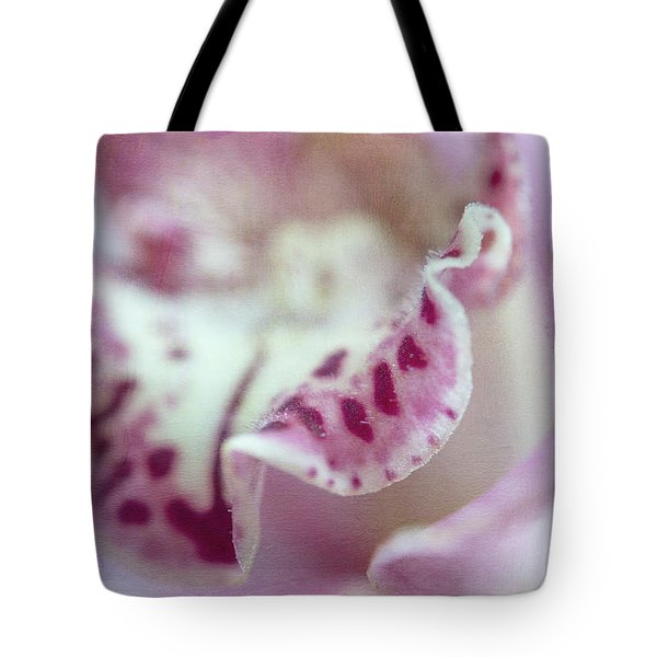Tote Bag featuring the photograph Cattleya Orchid Abstract 2 by Jenny Rainbow