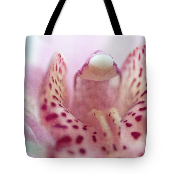Tote Bag featuring the photograph Cattleya Orchid Abstract 3 by Jenny Rainbow