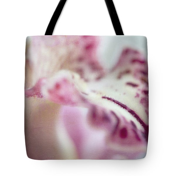 Tote Bag featuring the photograph Cattleya Orchid Abstract 4 by Jenny Rainbow
