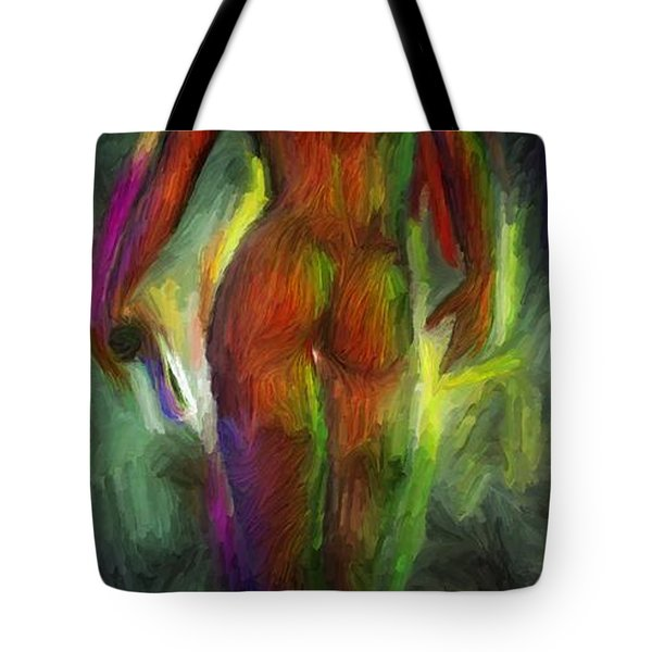 Catwalk Into The Light Tote Bag