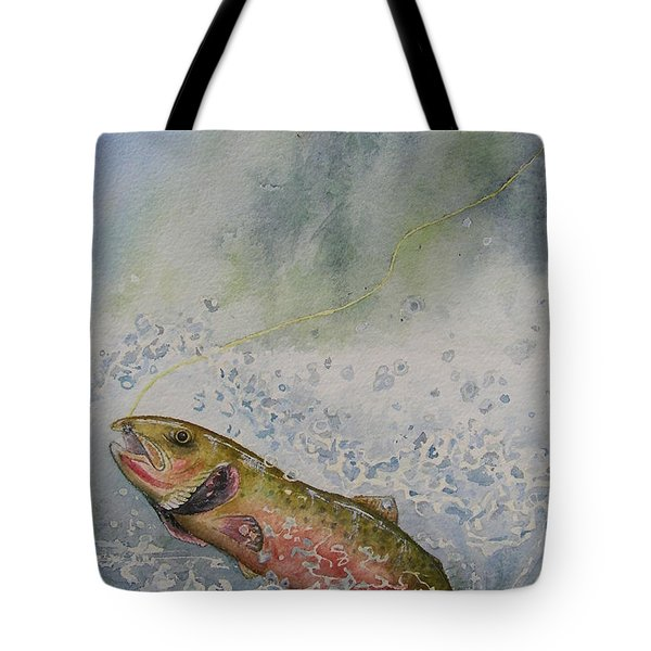 Caught Tote Bag by Gale Cochran-Smith