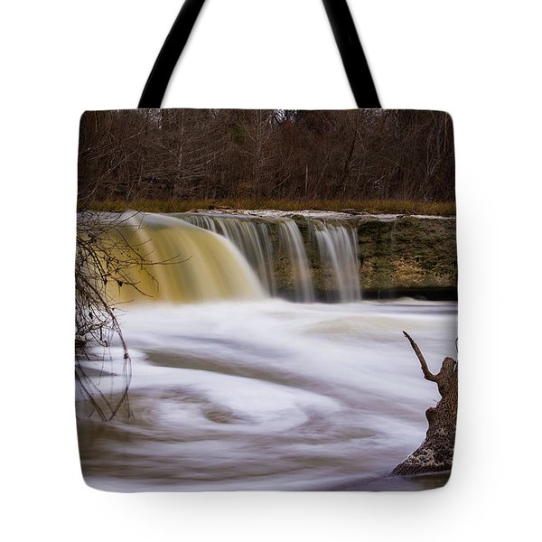 Caught In A Spin Tote Bag